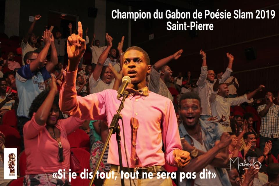 Quelques questions à Alain Saint Pierre Champion du Gabon de Slam 2019